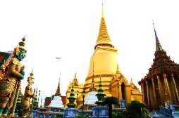The temple of Emerald Buddha, Bangkok