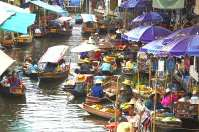 Float Market, Thailand