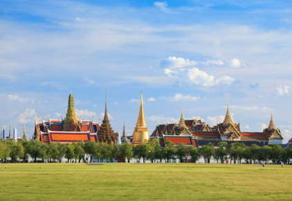 Grand Palace and the Temple of Emerald Buddha, Bangkok, Thailand