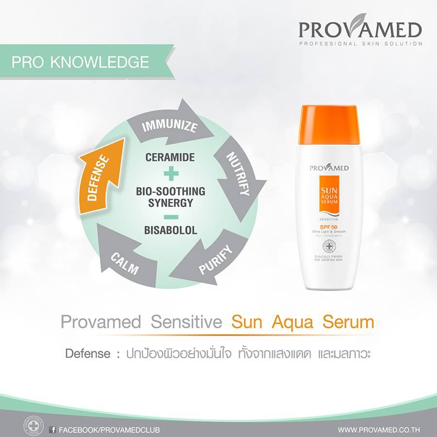 Provamed Sun Aqua Serum