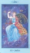 Justice Celestial Tarot