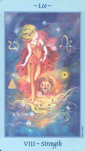 Celestial Tarot: VIII. Strength