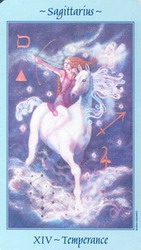 14 Temperance: Sagittarius