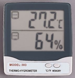 THERMOMETER,THERMO-HYGROMETER