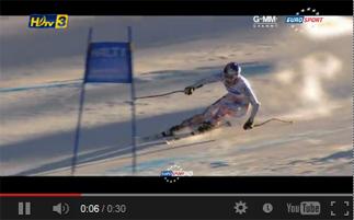 สกี จากกล่อง ดีทีวี รุ่น HD1  ในช่อง HDtv 3