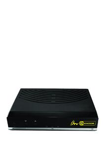 DTV D-KHOOM กล่องรับดีทีวี ดีคุ้ม นำไปใส่กับจานดาวเทียม C-BAND หรือ KU-BAND ก็ได้