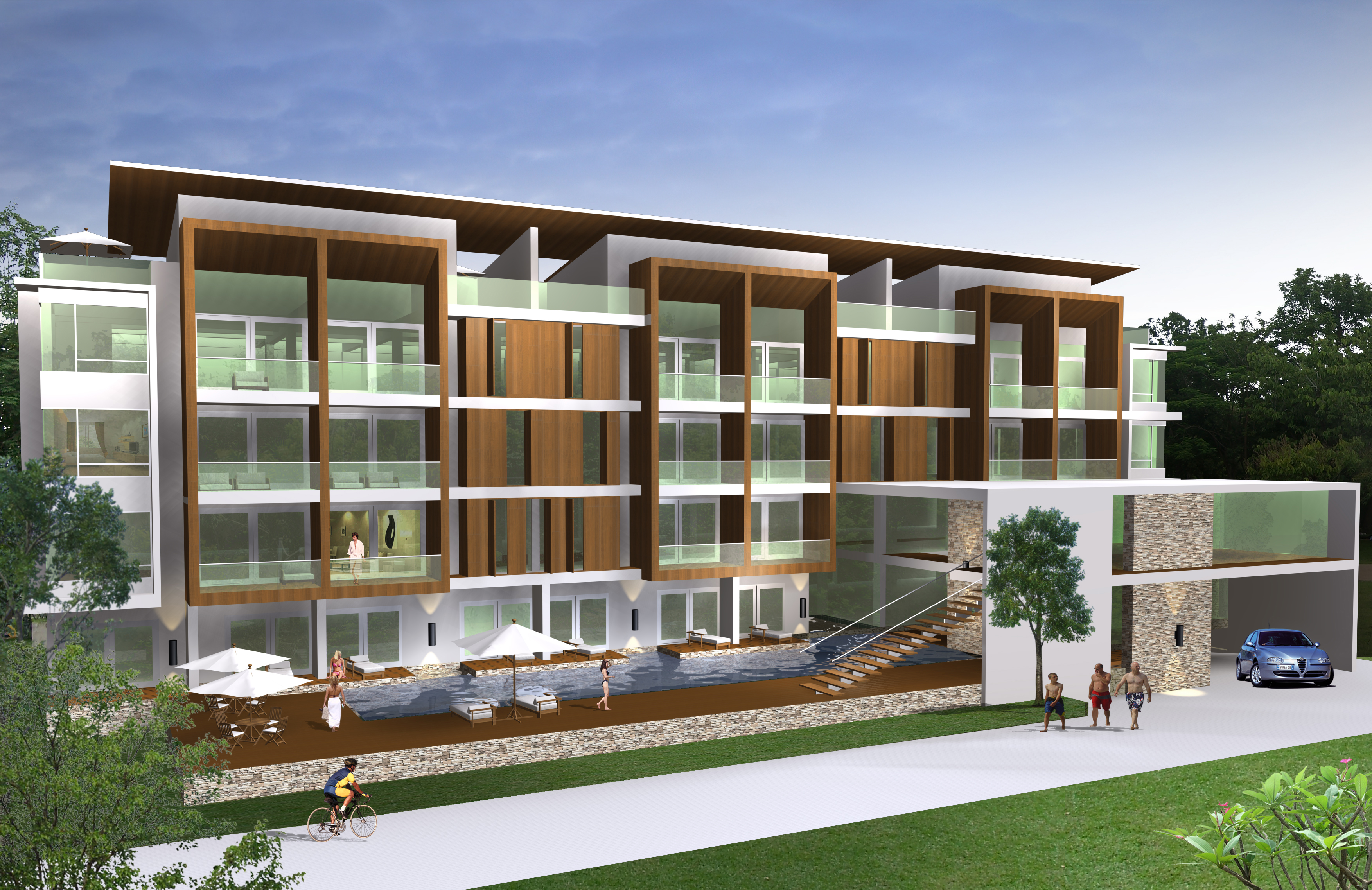 House Plans And Design Architectural Designs For Condominiums