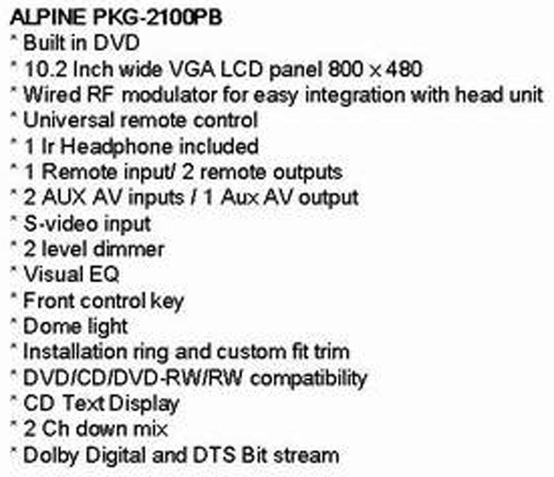 PKG-2100PB