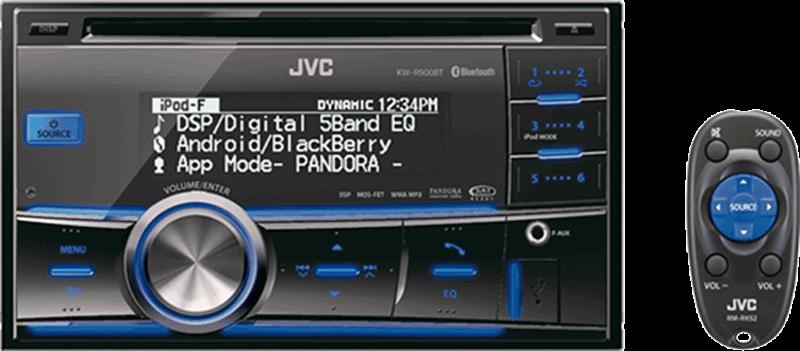 วิทยุติดรถยนต์ขนาด 2Din JVC KW-R900BT ราคา 7,500 บาท