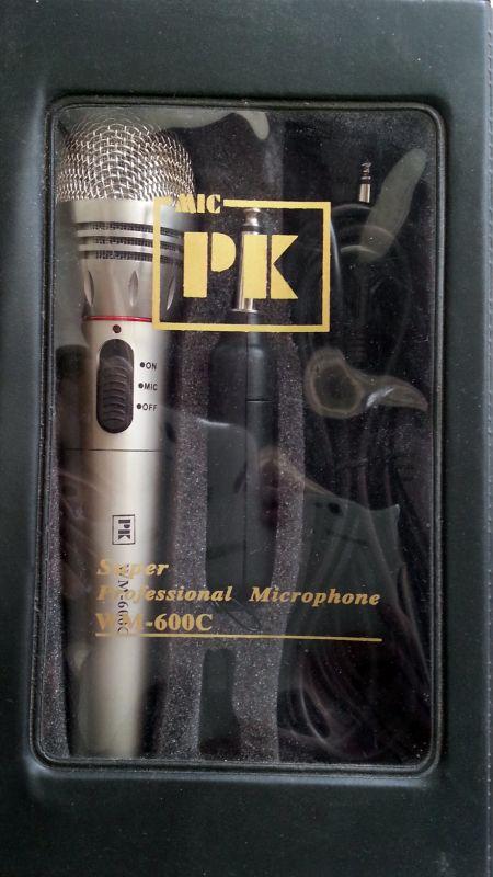 ปรีไมค์ PK Audio WM-600C