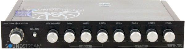 ปรีแอมป์ Soundstream MPQ-7XO