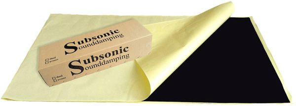 Subsonic Sounddamping