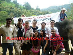 Group tour chiang mai