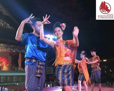 Traditional Khantoke Dinner and Show, Chiang Mai Thailand