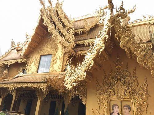 คนไทยทัวร์ แนะนำ วัดร่องขุ่น   หนึ่งในวัดที่สวยที่สุดในประเทศไทย จังหวัดเชียงราย
