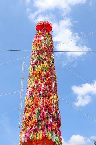 คนไทยทัวร์ ขอเชิญทำบุญงานประเพณี สลากย้อมเมืองลำพูน หนึ่งเดียวในโลก ที่วัดพระธาตุหริภุญชัย จ.ลำพูน