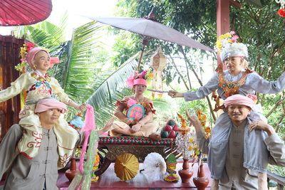 คนไทยทัวร์  พาทัวร์   ที่   บ้านม่อนฝ้าย เชียงใหม่