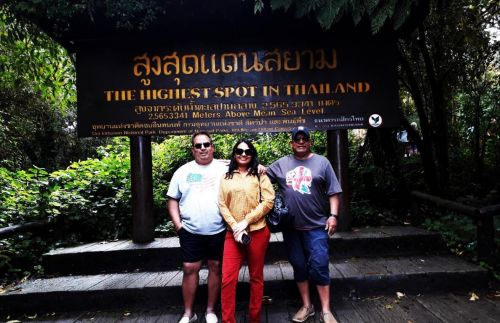 K.Tim and Family  Chiang Mai tour package  3 days 2 night