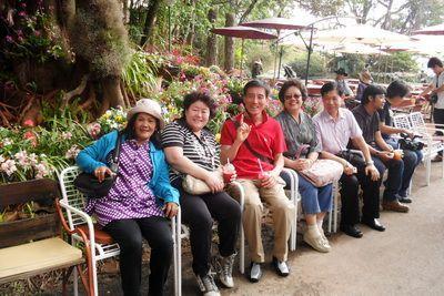 Korea group travel to chiang mai