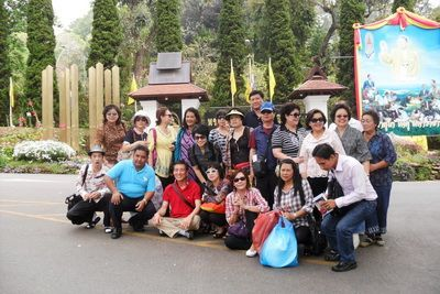Korea group travel to chiang mai