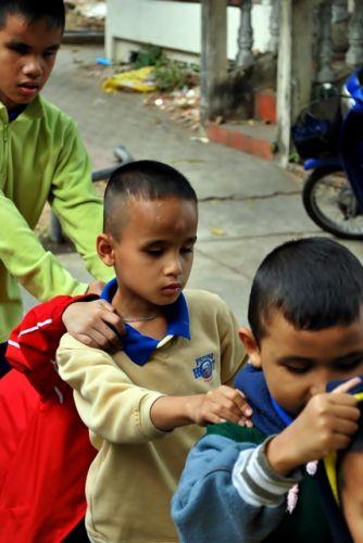 คนไทยทัวร์  สานฝันปันรอยยิ้ม กับ โรงเรียน สอนคนตาบอด เชียงใหม่