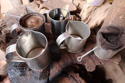 คนไทยทัวร์ พาเที่ยวชม ทุ่งนาขั้นบันใด และ กาแฟที่คั่วและบดใหม่ๆ สดๆ ให้ ชิมฟรี  ที่ แม่กลางหลวง ดอยอินทนนท์