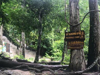 💐 คนไทยทัวร์ แวะเที่ยว ที่  อุทยานแห่งชาติน้ำตกบัวตอง-น้ำพุเจ็ดสี เชียงใหม่