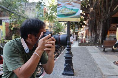 คนไทยทัวร์ ชวนน้องขวัญใจ มาเที่ยวและถ่ายภาพ ที่    วัน นิมมาน เชียงใหม่ (One Nimman)