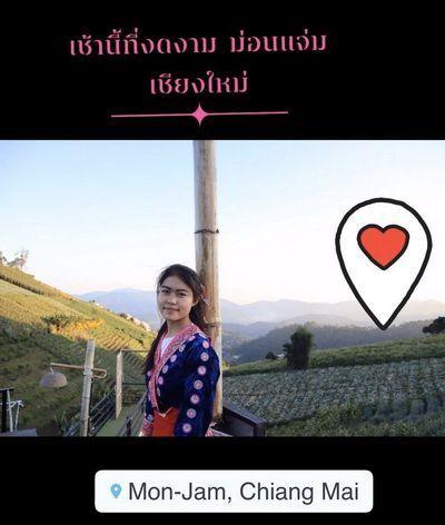 คนไทยทัวร์ มาเช็ค ที่พัก ที่ม่อนแจ่ม