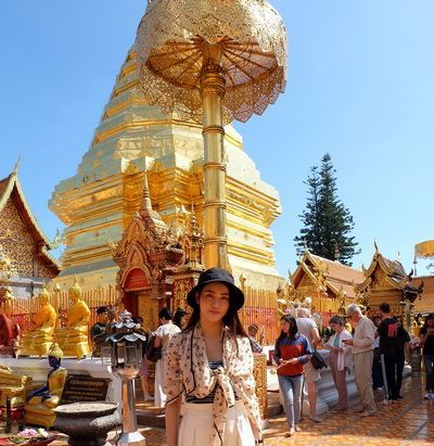 Wat Phra That Doi Suthep Temple the landmark of Chiang Mai