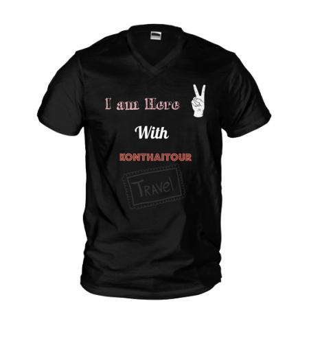 เสื้อยืด  limited edition จาก คนไทยทัวร์ 1 ตัว ไม่เหมือนใครในโลก