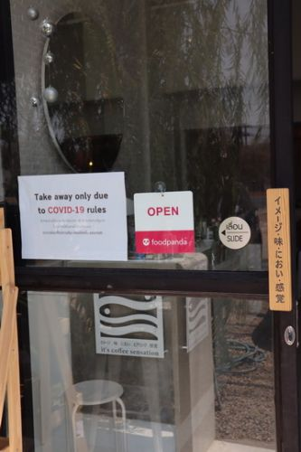Konthaitour review เพื่อ ผุ้ระกอบการ Sme เชียงใหม่ ขอแนะนำ Int sense , cafe สไตล์ Minimal เปิดแบบ take away สั่ง Food panda ได้ด้วยนะจ้า