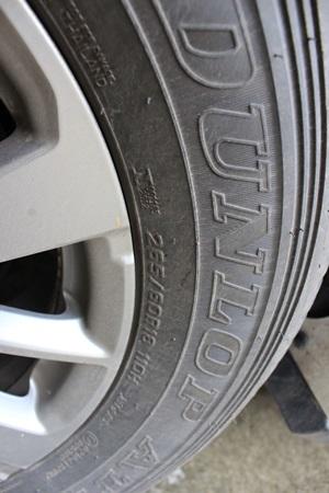 สำหรับคันนี้เป็นรุ่น 2.4 GT 2WD จะได้ล้อขอบ 18 ใส่ยาง 265/60 r18