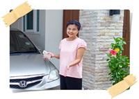 ส่วนหนึ่งของผู้ใช้บริการรับซื้อรถ รถมือสองถึงบ้าน คุณอัมพร ( กทม. ) : บริการดี ประทับใจมาก รับซื้อรถให้ราคาดีค่ะ