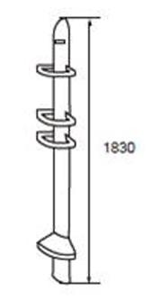 K-17232X-0 ชั้นวางของความสูง 1830 มม.