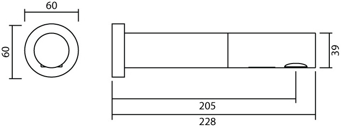 MF-1502 ก๊อกอ่างล้างหน้า แบบเซ็นเซอร์