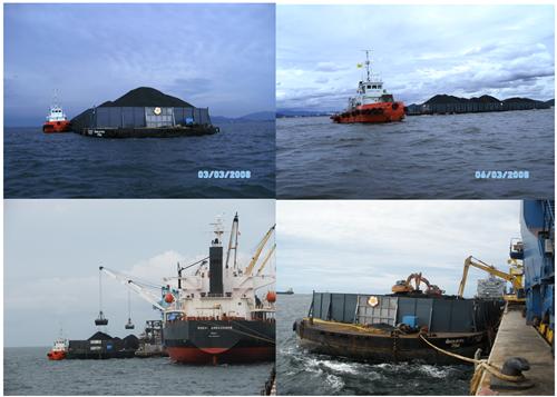ผลงาน Tug Boat and Flat Top Barge