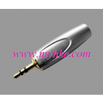 LIDGE YM-168D ปลั๊กtrสเตอริโอ Product Description 3.5 mm. stereo male plug, nickle plated aluminium shell for 6 mm. cable