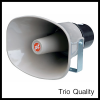 TRIO TH-811     Horn Speaker 8 x 11 Inch 80-100 W.TRIO TH-811 ลำโพงฮอร์น