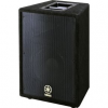"Product Overview 2-way way passive system. Bass reflex, trapezoidal cab. Heavy grille. Recessed handles. Black carpet covering. 15"" woofer. 1"" diaphragm high-frequency horn. Speakon and 1/4"" input. 2-way way passive system Bass reflex,"