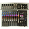Mixer PV-10 USB K.Power     10 Channel  Power outputs : 400 W x 2 (4ohm) / 200 W x 2 (8ohm)     T.H.D : 0.1 % below ( 1KHz full Power)     Power Requirements : AC 220-240V