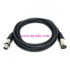 XLR Male To XLR Female1M     ����ѭ�ҳ���§ XLR Male To XLR Female Black Mic Cable ���1����