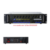 TRIO TR-3150     TRIO TR-3150 ADMono Power Mixer Amplifier 150 W. AC / DC Built-In Master Line Matching 70-100 V.