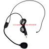 ไมค์โครโฟนคาดศรีษะ Headset Microphone for VoiceBooster Voice Amplifiers - Black