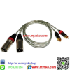 ����ѭ�ҳ���§1���� XLR Male*2 To PLUG RCA*2 PROFESSIONAL AUDIO CABLE PA SYSTEM
