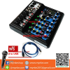 Proeuro Tech BABY8FX     มิกเซอร์8ช่อง 16DSP USB Professional Mixer MIC-LINE Proeuro Tech BABY8FX