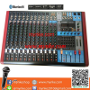 Proeuro Tech GBX-1402FX     มิกเซอร์14ช่อง BLUETOOTH USB MP3 SD CARD 256DSP Professional Mixer MIC-LINE Proeuro Tech GBX-1402FX