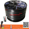 XXL SPK102B     สายลำโพง VCT 100 เมตร 2*1.5 Raw Wire to Raw Wire PROFESSIONAL AUDIO Speaker Cable HIGHT QUALITY LOW NOISE- Black PA/DJ/Home Audio