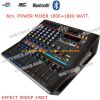 เพาเวอร์มิกเซอร์8ช่อง 1800+1800WATT BLUETOOTH USB MP3 PLAYER POWER MIXER Professional 24BIT 99DSP EFFECT