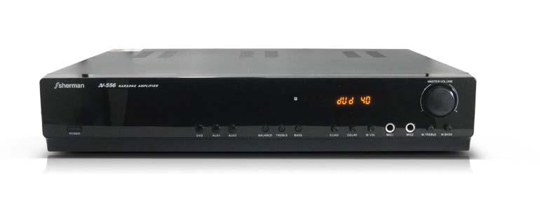 WWW.MYNKE.COM AV-556K     Sherman รุ่น Karaoke Amplifier AV-556K